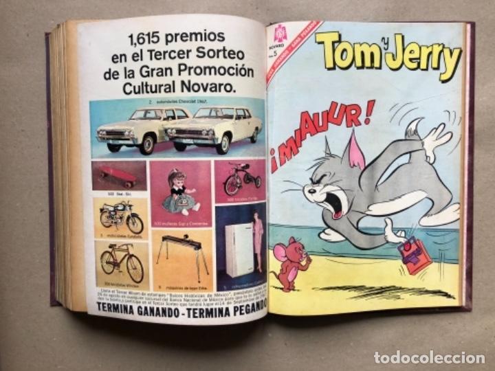 Tebeos: 15 EJEMPLARES DE LA EDITORIAL NOVARO (AÑOS 60s). ENCUADERNADOS. PORKY Y SUS AMIGOS, TOM Y JERRY, ... - Foto 17 - 135682439
