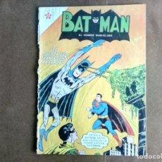 Tebeos: BATMAN, NOVARO, Nº 166, AÑO 1963. LA FUERZA QUE TRANSFORMÓ A BATMAN. PROCEDE DE ENCUADERNACIÓN. . Lote 135742362