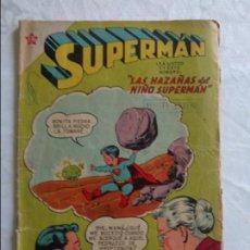 Tebeos: COMIC SUPERMAN - NUMERO Nº 143 - AÑO 1957 - NOVARO. Lote 135835170