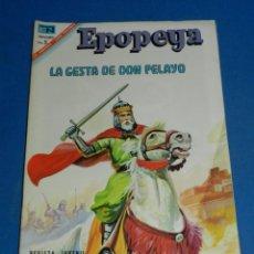 Tebeos: (M7) EPOPEYA NUM 105 LA GESTA DE DON PELAYO , SEÑALES DE USO . Lote 136552590