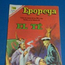 Tebeos: (M7) EPOPEYA NUM 106 EL TE , SEÑALES DE USO . Lote 136553126