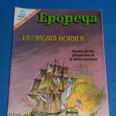Tebeos: (M7) EPOPEYA NUM 103 LA FRAGATA HEROICA , SEÑALES DE USO . Lote 136553198