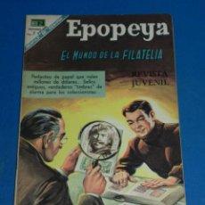 Tebeos: (M7) EPOPEYA NUM 126 EL MUNDO DE LA FILATELIA , SEÑALES DE USO . Lote 136553310