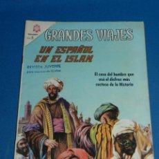 Tebeos: (M21) GRANDES VIAJES NUM 40 UN ESPAÑOL EN EL ISLAM , EDT NOVARO 1966 , SEÑALES DE USO . Lote 136553770