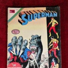 Tebeos: SUPERMAN NOVARO MEXICO 930 MUY DIFICIL 1973 . Lote 136813146