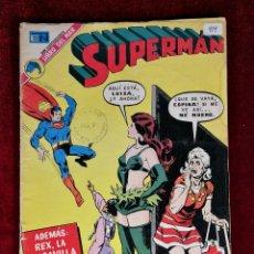 Tebeos: SUPERMAN NOVARO MEXICO 919 MUY DIFICIL 1973. Lote 136817754