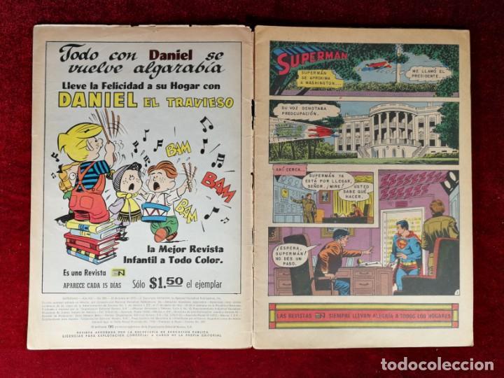 Tebeos: SUPERMAN NOVARO MEXICO 896 MUY DIFICIL 1973 - Foto 2 - 137274738