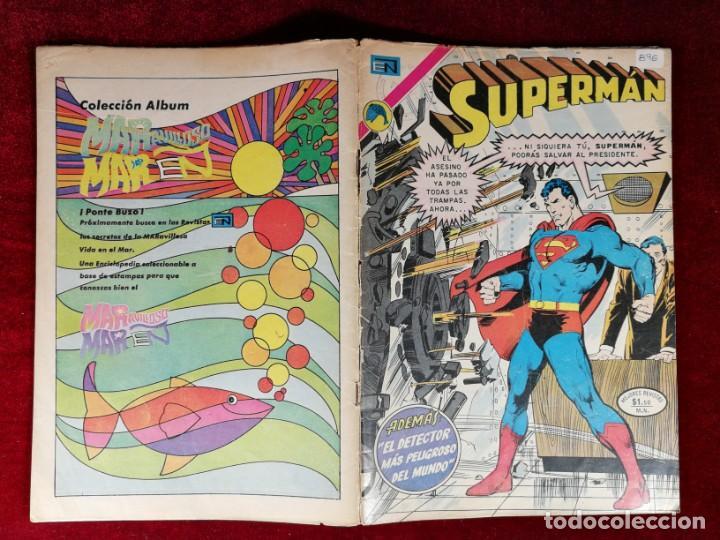 Tebeos: SUPERMAN NOVARO MEXICO 896 MUY DIFICIL 1973 - Foto 5 - 137274738