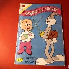Tebeos: EL CONEJO DE LA SUERTE REVISTA INFANTIL NOVARO. Lote 137323637