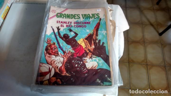 GRANDES VIAJES - NUMERO 17 - (Tebeos y Comics - Novaro - Grandes Viajes)