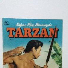 Tebeos: TARZÁN N° 13 (1952) MUY BUENO - FOTO LEX BARKER - ORIGINAL EDITORIAL NOVARO. Lote 137592870