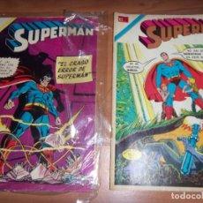 Tebeos: SUPERMAN 976 Y 742 NOVARO DC OFERTA. Lote 137690642