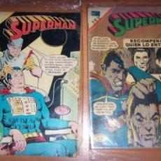 Tebeos: SUPERMAN N.758 Y 849 NOVARO//DC OFERTA. Lote 137690898