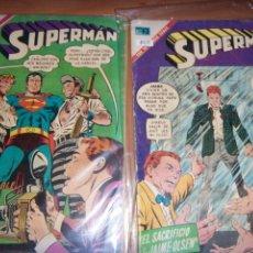 Tebeos: SUPERMAN N.803 Y 757 NOVARO//DC OFERTA. Lote 137691158