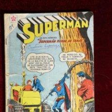 Tebeos: SUPERMAN NOVARO MEXICO 202 MUY DIFICIL 1959. Lote 137691302
