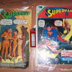 Tebeos: SUPERMAN N.960 Y N.2 AVESTRUZ LOTE, NOVARO // DC OFERTA. Lote 137691698