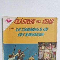 Tebeos: CLÁSICOS DEL CINE N° 78 - LA CIUDADELA DE LOS ROBINSON - ORIGINAL EDITORIAL NOVARO. Lote 137801426