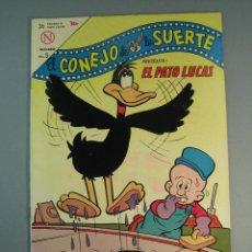 Tebeos: BUGS BUNNY (1950, SEA / NOVARO) -EL CONEJO DE LA SUERTE- 185 · 28-X-2018 · EL CONEJO DE LA SUERTE. Lote 137893082