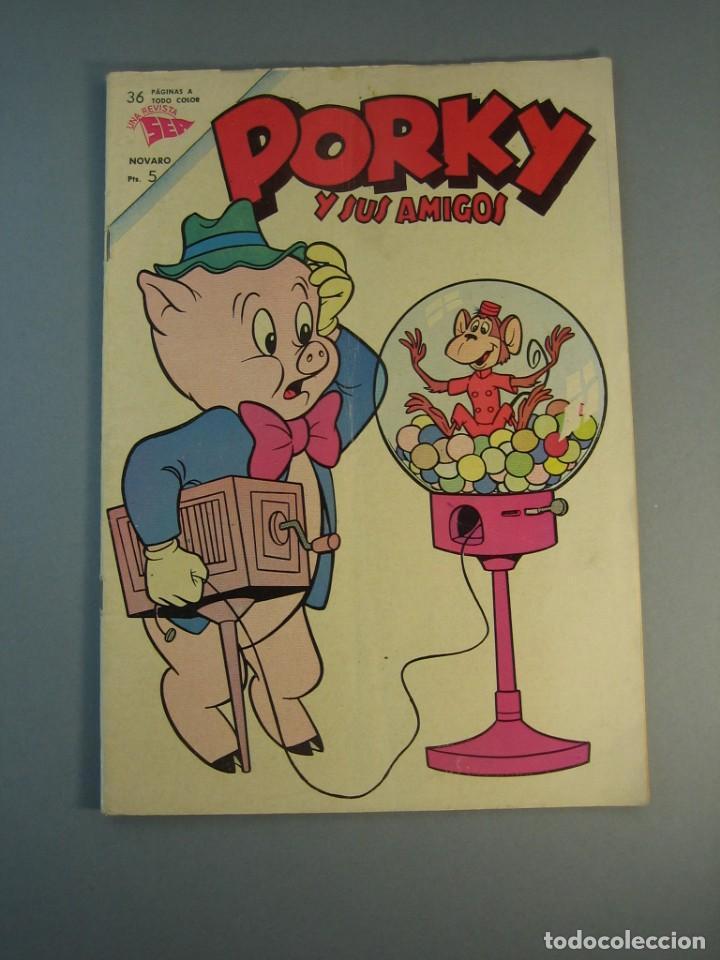PORKY (1951, SEA / NOVARO) 145 · X-1963 · PORKY Y SUS AMIGOS (Tebeos y Comics - Novaro - Porky)