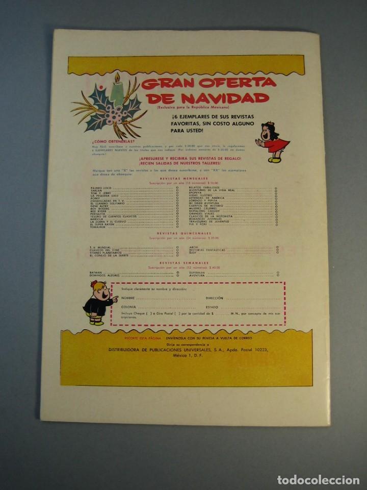 Tebeos: PORKY (1951, SEA / NOVARO) 147 · XII-1963 · PORKY Y SUS AMIGOS - Foto 2 - 137905206