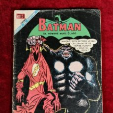 BDs: BATMAN NOVARO MEXICO 453 MUY DIFICIL 1968 FLASH. Lote 137967018