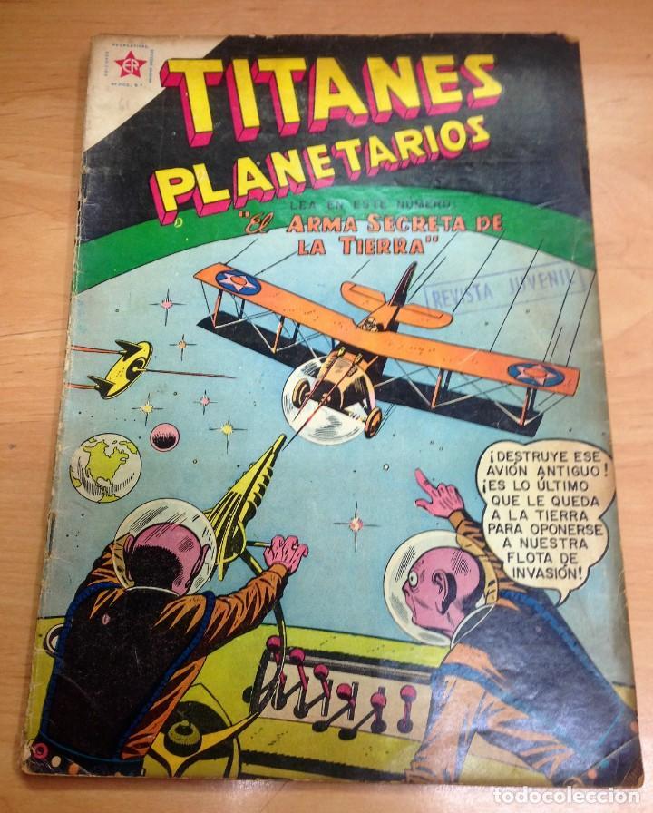 COMIC TITANES PLANETARIOS Nº 61 EDITORIAL NOVARO (Tebeos y Comics - Novaro - Sci-Fi)