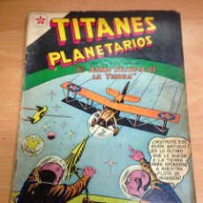 Tebeos: COMIC TITANES PLANETARIOS Nº 61 EDITORIAL NOVARO. Lote 138177234