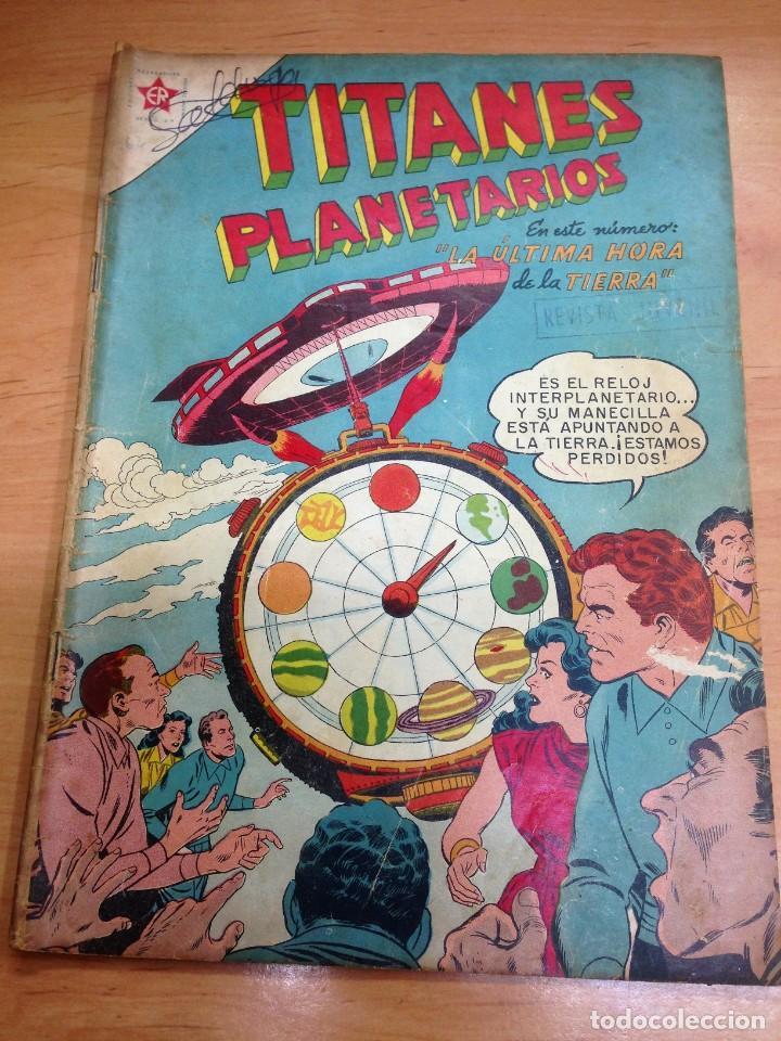 COMIC TITANES PLANETARIOS Nº 62 EDITORIAL NOVARO (Tebeos y Comics - Novaro - Sci-Fi)