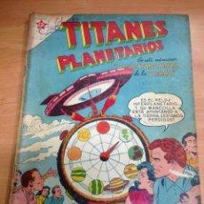 Tebeos: COMIC TITANES PLANETARIOS Nº 62 EDITORIAL NOVARO. Lote 138177298