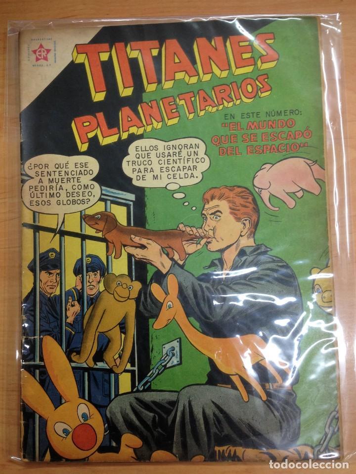 COMIC TITANES PLANETARIOS Nº 71 EDITORIAL NOVARO (Tebeos y Comics - Novaro - Sci-Fi)