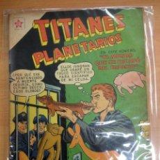 Tebeos: COMIC TITANES PLANETARIOS Nº 71 EDITORIAL NOVARO. Lote 138177570