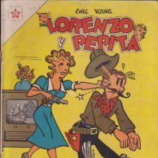 Tebeos: COMIC COLECCION LORENZO Y PEPITA Nº 107. Lote 141280030