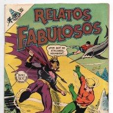 Tebeos: RELATOS FABULOSOS # 104 NOVARO 1968 AQUAMAN & AQUALAD 1ER APARICION DEL MAESTRO DEL OCEANO EXCELENTE. Lote 138636166