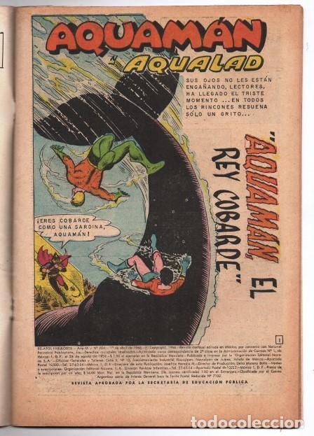 Tebeos: RELATOS FABULOSOS # 104 NOVARO 1968 AQUAMAN & AQUALAD 1er APARICION DEL MAESTRO DEL OCEANO EXCELENTE - Foto 2 - 138636166