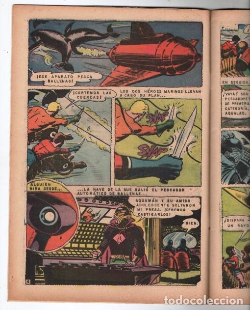 Tebeos: RELATOS FABULOSOS # 104 NOVARO 1968 AQUAMAN & AQUALAD 1er APARICION DEL MAESTRO DEL OCEANO EXCELENTE - Foto 3 - 138636166