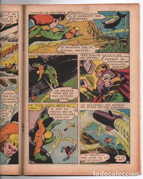 Tebeos: RELATOS FABULOSOS # 104 NOVARO 1968 AQUAMAN & AQUALAD 1er APARICION DEL MAESTRO DEL OCEANO EXCELENTE - Foto 4 - 138636166