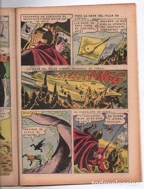 Tebeos: RELATOS FABULOSOS # 104 NOVARO 1968 AQUAMAN & AQUALAD 1er APARICION DEL MAESTRO DEL OCEANO EXCELENTE - Foto 5 - 138636166