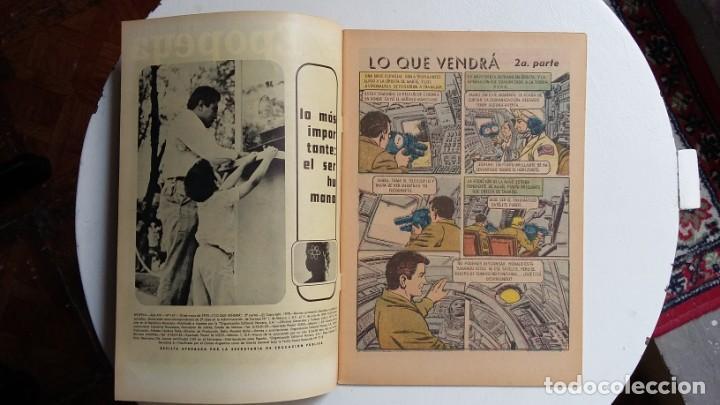 Tebeos: Epopeya n° 147 - Lo que vendrá (2a. parte) excelente - original editorial Novaro - Foto 2 - 138643382