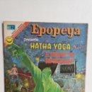 Tebeos: RARO! - EPOPEYA N° 196 - HATHA YOGA N° 26 (EXCELENTE) - ORIGINAL EDITORIAL NOVARO. Lote 138644298