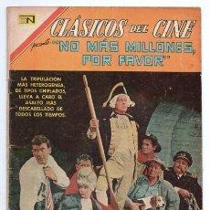 Tebeos: CLASICOS DEL CINE # 172 NOVARO 1968 NO MAS MILLONES POR FAVOR DELL 1967 WHO´S MINDING THE MINT ? . Lote 138668042