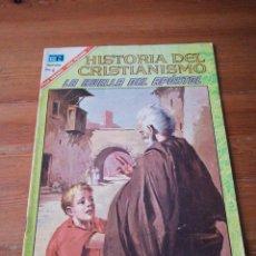 Tebeos: HISTORIA DEL CRISTIANISMO. NOVARO. NÚMERO 8. LA HUELLA DEL APÓSTOL.. Lote 138749626
