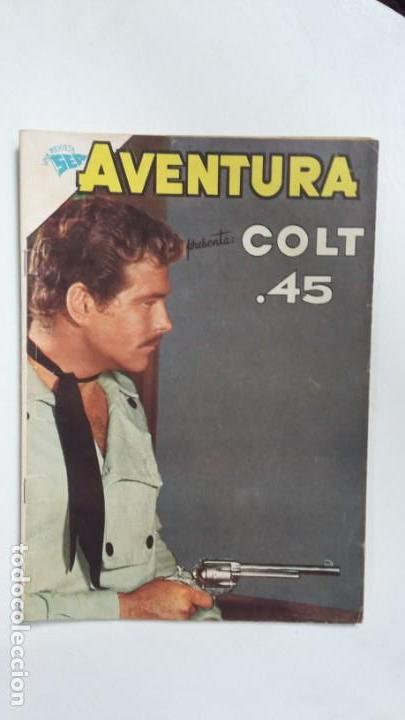 AVENTURA N° 208 - COLT 45 - ORIGINAL EDITORIAL NOVARO (Tebeos y Comics - Novaro - Aventura)