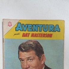 Tebeos: AVENTURA N° 348 - BAT MASTERSON - ORIGINAL EDITORIAL NOVARO. Lote 138849078