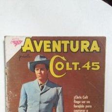 Tebeos: AVENTURA N° 203 - COLT 45 - ORIGINAL EDITORIAL NOVARO. Lote 138849554