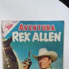 Tebeos: AVENTURA N° 81 - REX ALLEN - ORIGINAL EDITORIAL NOVARO. Lote 138849970