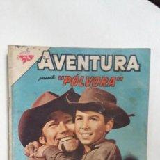 Tebeos: AVENTURA N° 267 - PÓLVORA - ORIGINAL EDITORIAL NOVARO. Lote 138850110