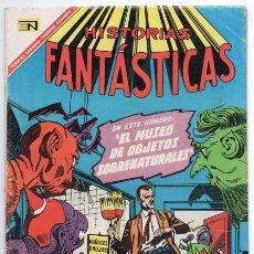 Tebeos: HISTORIAS FANTASTICAS # 178 NOVARO 1967 TALES OF UNEXPECTED # 96 MERCADO OBJETOS SOBRENATURALES EXC. Lote 138919078