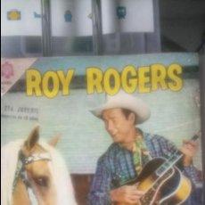 Tebeos: ROY ROGERS Y SU CABALLO TIGRE. EDITORIAL NOVARO.. Lote 138925422