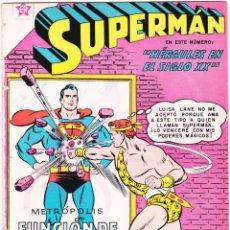 Tebeos: SUPERMAN NOVARO NÚMERO 313. HÉRCULES EN EL SIGLO XX. TERCERA APARICIÓN DE LA LEGIÓN DE SUPERHÉROES.. Lote 139017802