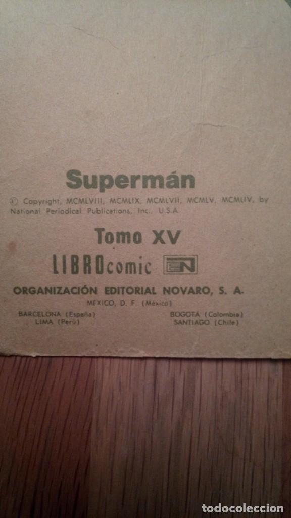 Tebeos: comic superman editorial novaro tomo XV - Foto 4 - 139095110